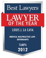 Medical Malpractice Law - Defendants, Tampa (2012)