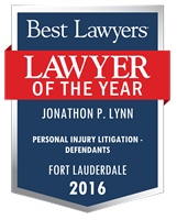 Personal Injury Litigation - Defendants, Fort Lauderdale (2016)